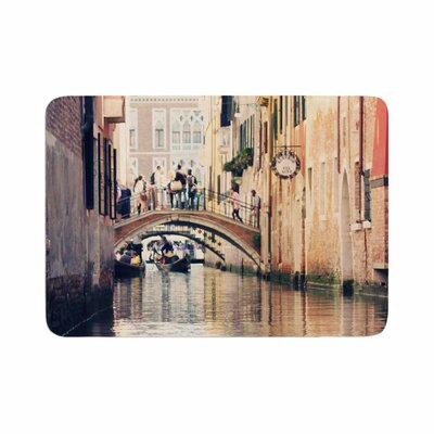 Sylvia Coomes Venice 10 Vector Memory Foam Bath Rug Size: 0.5 H x 24 W x 36 D