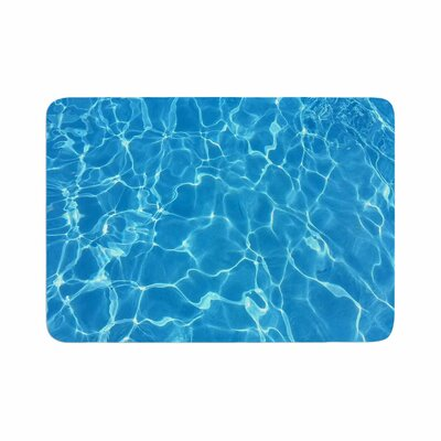 Suzanne Carter Reflections Digital Memory Foam Bath Rug Size: 0.5 H x 17 W x 24 D