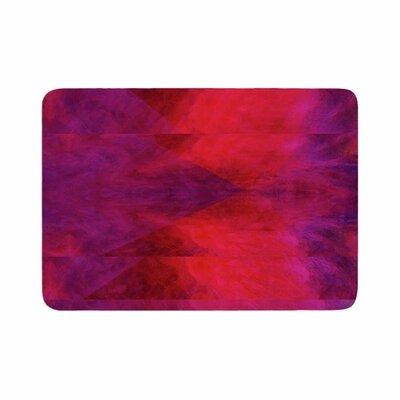 Suzanne Carter Colour Block Memory Foam Bath Rug Size: 0.5 H x 17 W x 24 D