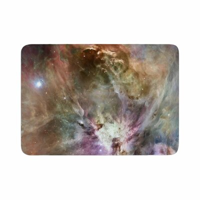 Suzanne Carter Orion Nebula Celestial Memory Foam Bath Rug Size: 0.5 H x 17 W x 24 D