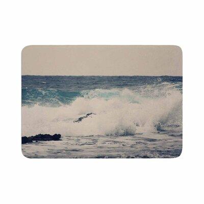 Sylvia Coomes Ocean 1 Coastal Memory Foam Bath Rug Size: 0.5 H x 24 W x 36 D