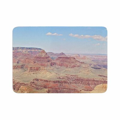 Sylvia Coomes Grand Canyon Panoramic Travel Memory Foam Bath Rug Size: 0.5 H x 24 W x 36 D