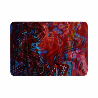 Suzanne Carter Flow Memory Foam Bath Rug Size: 0.5 H x 24 W x 36 D