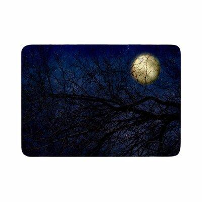 Sylvia Coomes Moon Celestial Memory Foam Bath Rug Size: 0.5 H x 24 W x 36 D