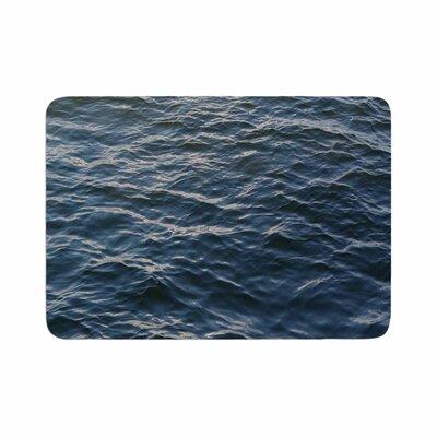 Suzanne Carter Deep Water Nautical Memory Foam Bath Rug Size: 0.5 H x 24 W x 36 D