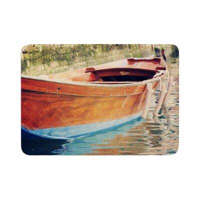 Sylvia Coomes Venetian Boat Memory Foam Bath Rug Size: 0.5 H x 24 W x 36 D