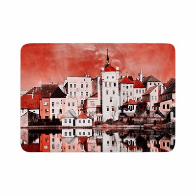 Suzanne Carter Sky at Night Memory Foam Bath Rug Size: 0.5 H x 17 W x 24 D