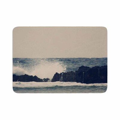 Sylvia Coomes Ocean 2 Coastal Memory Foam Bath Rug Size: 0.5 H x 17 W x 24 D