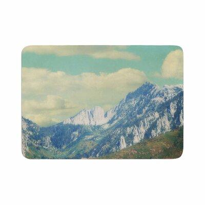 Sylvia Coomes Utah Mountains Memory Foam Bath Rug Size: 0.5 H x 24 W x 36 D