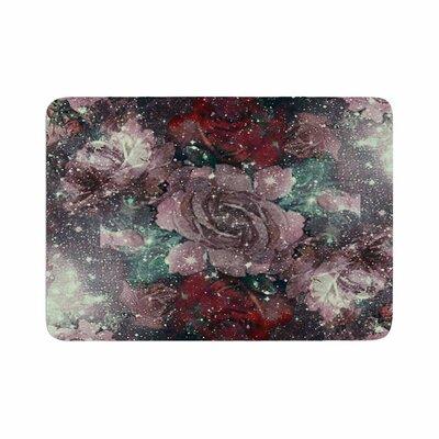 Shirlei Patricia Muniz Love Roses Digital Memory Foam Bath Rug Size: 0.5 H x 24 W x 36 D