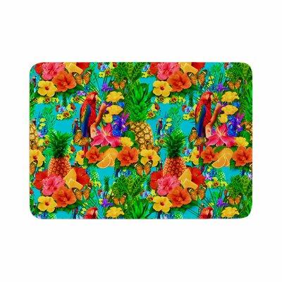 Shirlei Patricia Muniz Tropical Style Memory Foam Bath Rug Size: 0.5 H x 24 W x 36 D