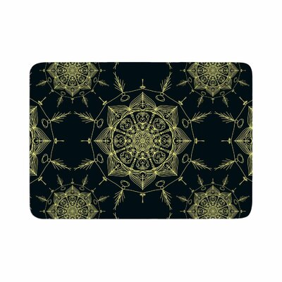 Shirlei Patricia Muniz Mystic ll Abstract Memory Foam Bath Rug Size: 0.5 H x 24 W x 36 D