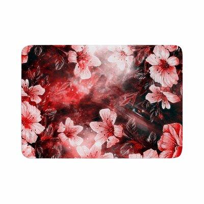 Shirlei Patricia Muniz Garden Secret Memory Foam Bath Rug Size: 0.5 H x 17 W x 24 D