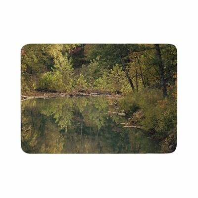 Sylvia Coomes in the Woods 3 Photography Memory Foam Bath Rug Size: 0.5 H x 24 W x 36 D