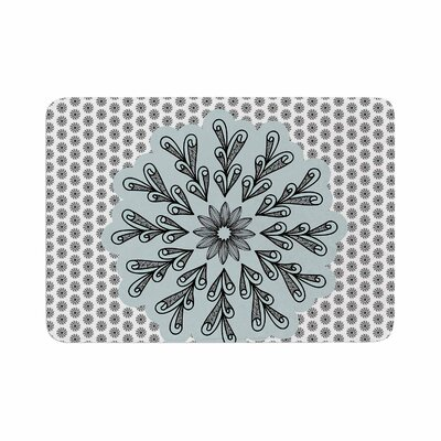 Shirlei Patricia Muniz My Flower Abstract Memory Foam Bath Rug Size: 0.5 H x 24 W x 36 D