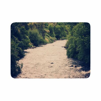 Sylvia Coomes Cold Stream Photography Memory Foam Bath Rug Size: 0.5 H x 24 W x 36 D