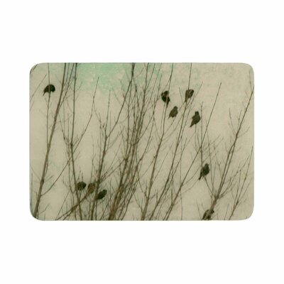 Sylvia Coomes Braving the Cold Photography Memory Foam Bath Rug Size: 0.5 H x 24 W x 36 D