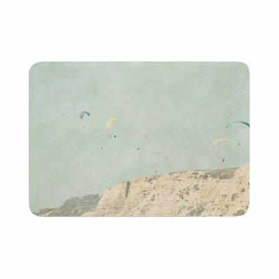 Sylvia Coomes West Coast 2 Coastal Memory Foam Bath Rug Size: 0.5 H x 17 W x 24 D