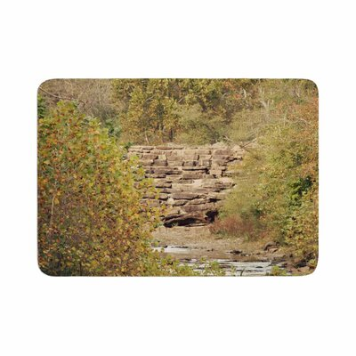 Sylvia Coomes in the Woods 4 Memory Foam Bath Rug Size: 0.5 H x 17 W x 24 D