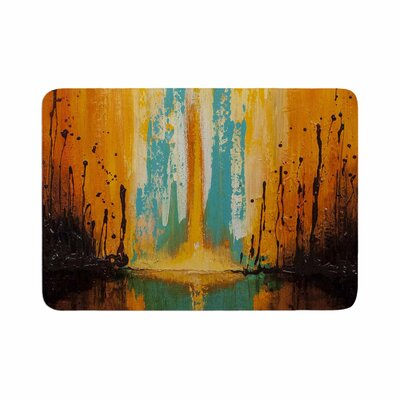 Steven Dix Inception Or Birth Memory Foam Bath Rug Size: 0.5 H x 24 W x 36 D