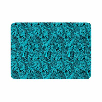 Shirlei Patricia Muniz Zentangle Mystic Abstract Memory Foam Bath Rug Size: 0.5 H x 24 W x 36 D
