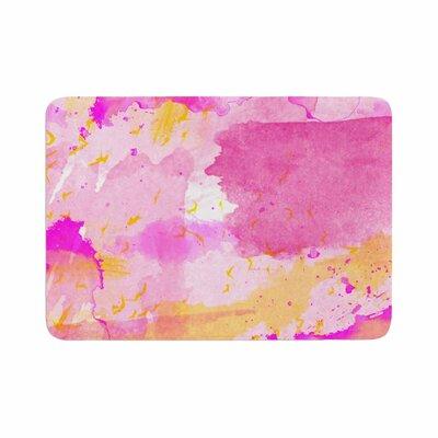 Shirlei Patricia Muniz Memory Foam Bath Rug Size: 0.5 H x 17 W x 24 D