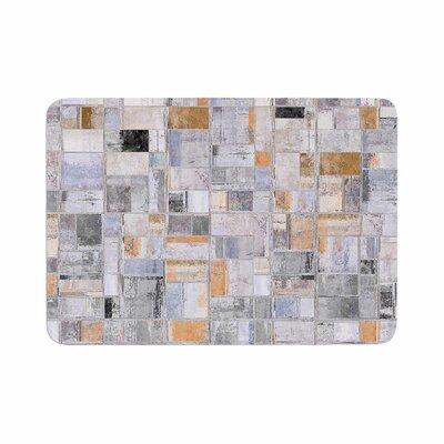 Susan Sanders Tile Squares Photography Memory Foam Bath Rug Size: 0.5 H x 17 W x 24 D