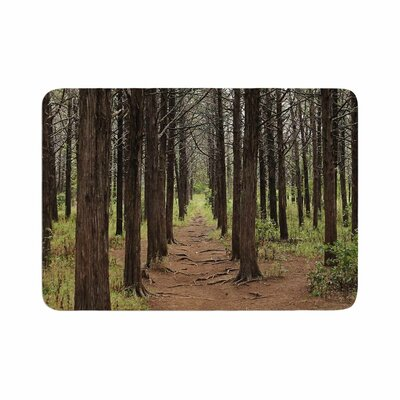 Sylvia Coomes Parallel Forest Photography Memory Foam Bath Rug Size: 0.5 H x 17 W x 24 D