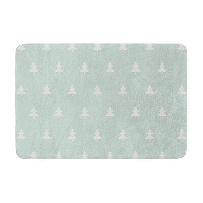 Snap Studio Pine Pattern Memory Foam Bath Rug Size: 0.5
