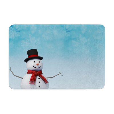 Snap Studio Feelin Frosty Memory Foam Bath Rug Size: 0.5 H x 24 W x 36 D