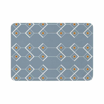 Stephanie Vaeth Diamonds Modern Memory Foam Bath Rug Size: 0.5 H x 24 W x 36 D