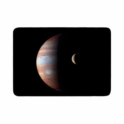 Alias Jupiter Memory Foam Bath Rug Size: 0.5 H x 17 W x 24 D