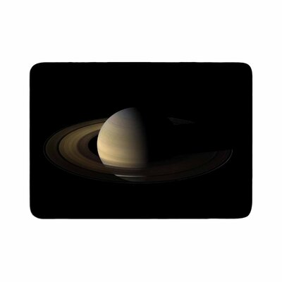 Alias Saturn Digital Memory Foam Bath Rug Size: 0.5 H x 17 W x 24 D