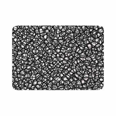 Trebam Staklo Digital Memory Foam Bath Rug Size: 0.5 H x 24 W x 36 D