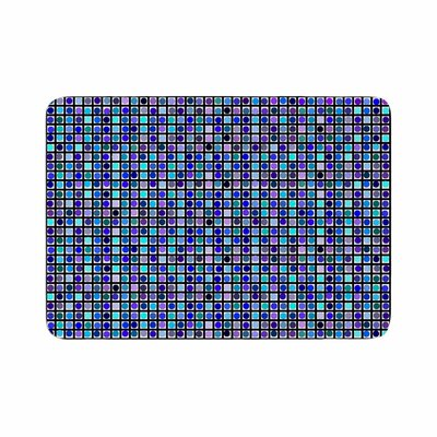Trebam Mozaik Memory Foam Bath Rug Size: 0.5 H x 17 W x 24 D