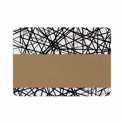 Trebam Kava Memory Foam Bath Rug Size: 0.5 H x 24 W x 36 D