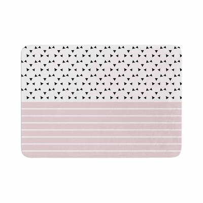 Trebam Razni Memory Foam Bath Rug Size: 0.5 H x 17 W x 24 D