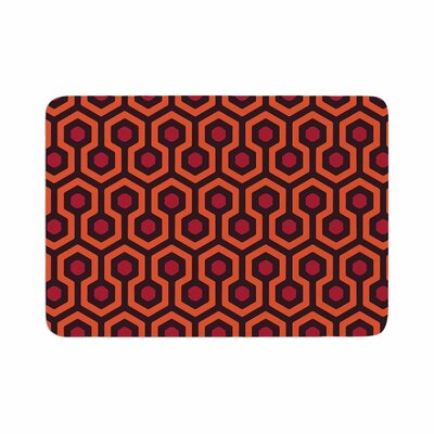 Alias the Overlook Abstract Memory Foam Bath Rug Size: 0.5 H x 17 W x 24 D