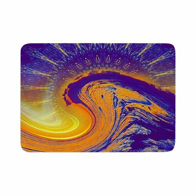 Infinite Spray Art Devreux Nautical Memory Foam Bath Rug Size: 0.5