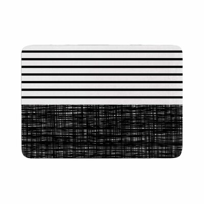 Trebam Platno (with Stripes) Memory Foam Bath Rug Size: 0.5 H x 17 W x 24 D