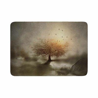 Viviana Gonzalez Lone Tree Love IV Memory Foam Bath Rug Size: 0.5 H x 24 W x 36 D