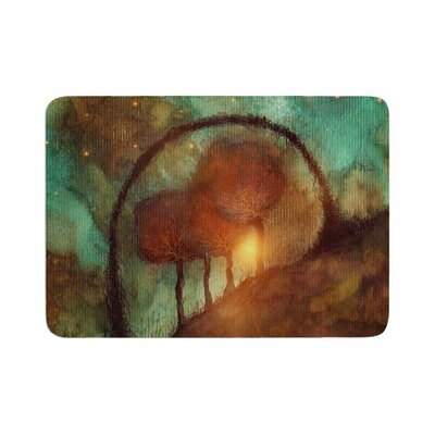 Viviana Gonzalez Track 28: Sunset and Dreams II Memory Foam Bath Rug Size: 0.5 H x 24 W x 36 D