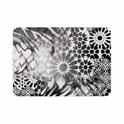 Victoria Krupp out of Morocco Abstract Memory Foam Bath Rug Size: 0.5 H x 24 W x 36 D