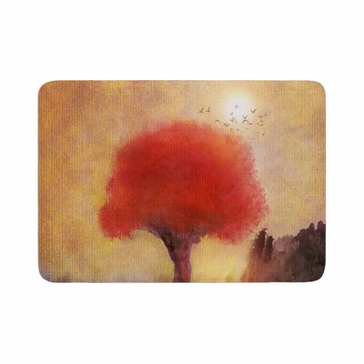 Viviana Gonzalez Tree Memory Foam Bath Rug Size: 0.5 H x 24 W x 36 D