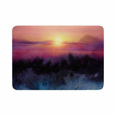 Viviana Gonzalez Calling the Sun IV Memory Foam Bath Rug Size: 0.5 H x 17 W x 24 D