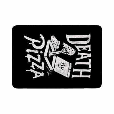 Tatak Waskitho Death by Pizza Food Memory Foam Bath Rug Size: 0.5 H x 24 W x 36 D