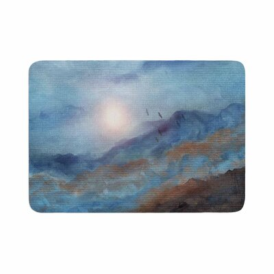 Viviana Gonzalez Calling the Sun VI Memory Foam Bath Rug Size: 0.5 H x 17 W x 24 D