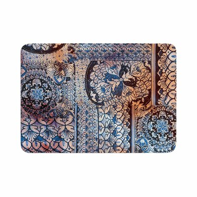 Victoria Krupp Italian Tiles Digital Memory Foam Bath Rug Size: 0.5 H x 17 W x 24 D
