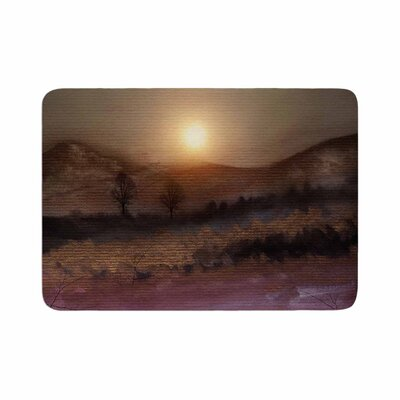 Viviana Gonzalez Calling the Sun V Memory Foam Bath Rug Size: 0.5 H x 24 W x 36 D
