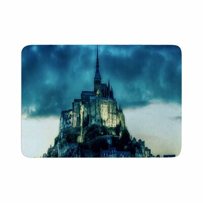888 Design Haunted Castle Memory Foam Bath Rug Size: 0.5 H x 17 W x 24 D